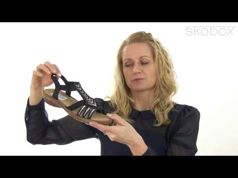 Skobox - Rieker sandal med mange fine detaljer - Køb Rieker sandaler online
