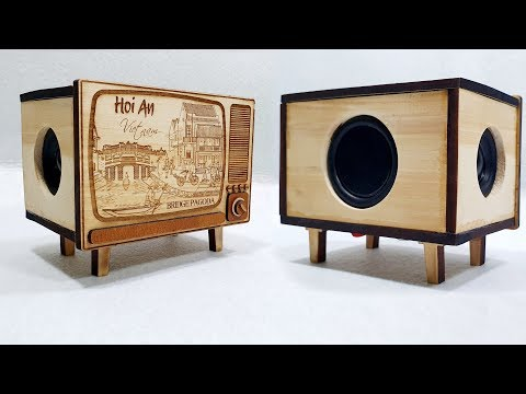 Building Bluetooth Speaker with Wooden Mini TV Box