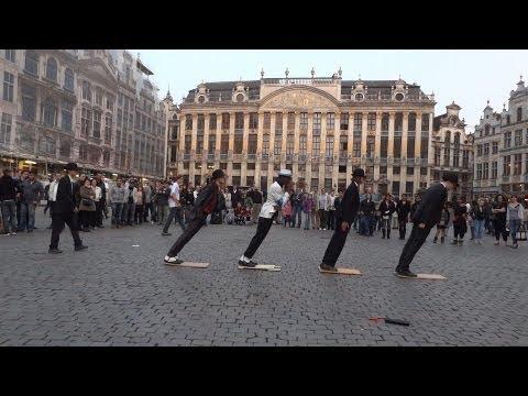 Michael Jackson Smooth Criminal flashmob 2012