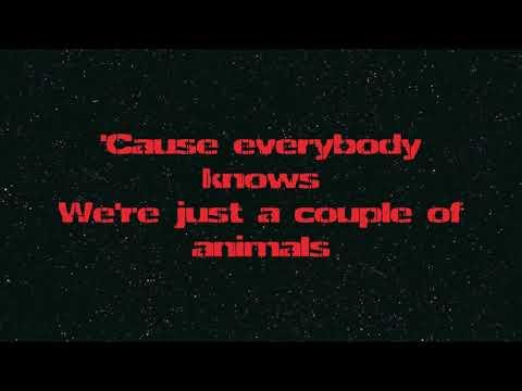 Nickelback - Animals lyrics (HD)