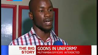 Goons in Uniform brutalize JKUAT students | The Big Story