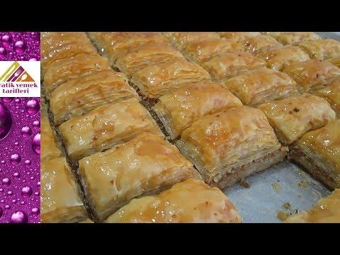 El Açması Bütün Püf Noktalarıyla Baklava Yapımı Pratik Yemek Tarifleri