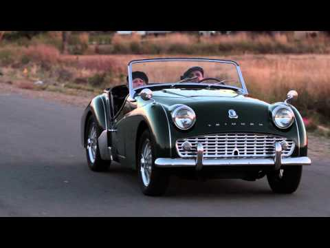 Gorgeous 1960 Triumph TR3 A Video