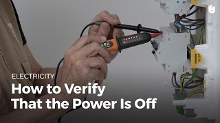 How to Check that the Power is Off | Electricity