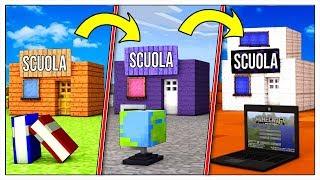 TRASFORMIAMO LA SCUOLA NOOB IN PRO! - Minecraft ITA