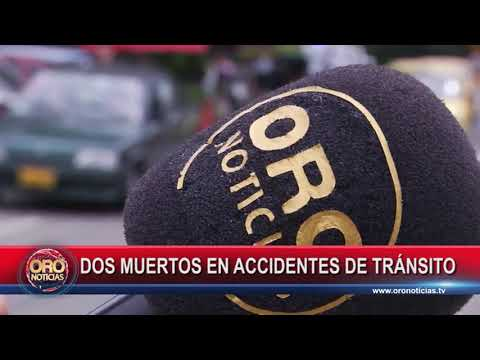 DOS MUERTOS EN ACCIDENTE DE TRÁNSITO PIEDECUESTA - ORONOTICIAS.TV