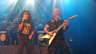 ANTHRAX - The Belly of The Beast, live @ Reflektor Liège 2017