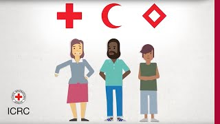 The red cross, red crescent and red crystal. What do they mean? In one word: protection.