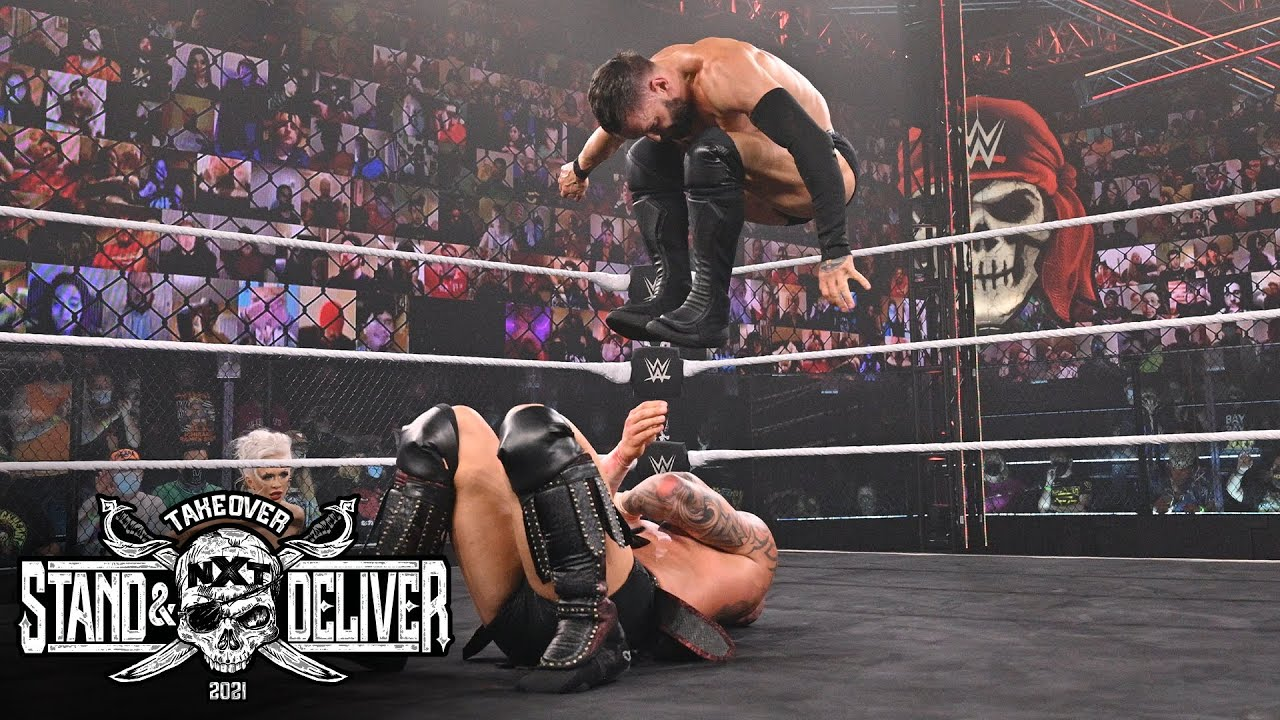"""Karrion Kross Vs. Finn Balor At """"Takeover: Stand And Deliver"""" Night Two"""