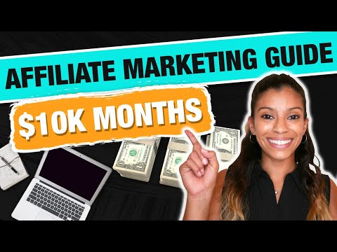 Affiliate Marketing Guide To $10K Months From SCRATCH | Marissa Romero