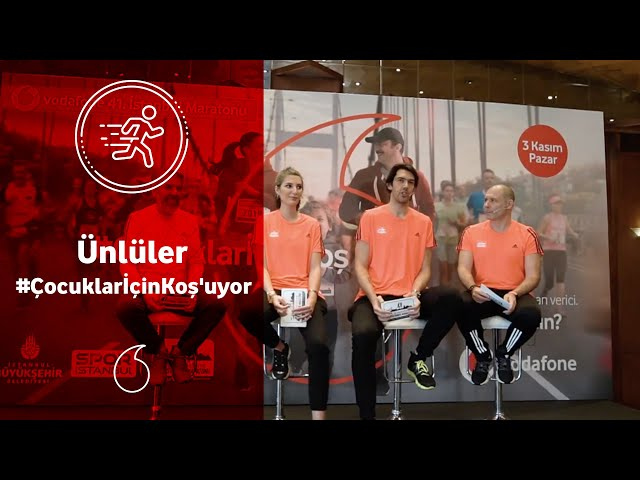 Vodafone 41. İstanbul Maratonu'nda bu yıl #ÇocuklarİçinKoş'acağız!