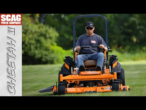 2021 SCAG Power Equipment Cheetah II 72 in. Briggs Vanguard EFI 37 hp in Beaver Dam, Wisconsin - Video 1