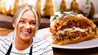 Alix's Lasagna Dome Recipe