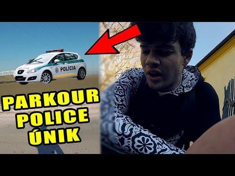 Parkour únik pred políciou - Flying Emotions