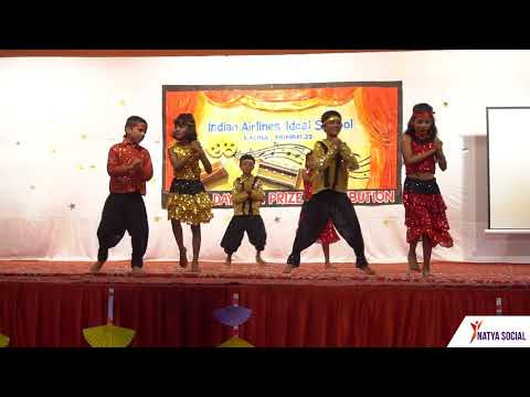 Indian Airlines School Annual Day Dance Choreography
