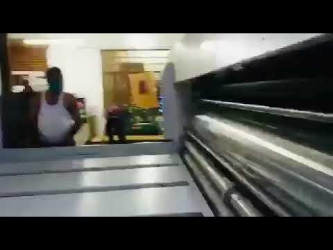 Two Color Printer Slotter