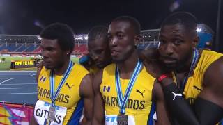 Team Barbados interview at the IAAFBTC World Relays