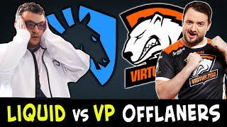 LIQUID vs VP epic offlaners battle — Mind_Control vs 9pasha