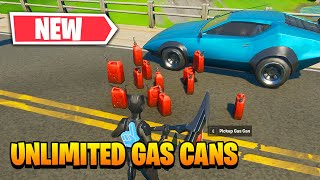 How To Duplicate Gas Cans - Fortnite Unlimited Fuel Glitch (Unlimited Gas Cans)