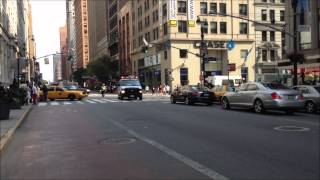 preview picture of video 'NYPD RESPONDING ON EAST 34TH STREET AND 5TH AVENUE IN THE MIDTOWN AREA OF MANHATTAN, NEW YORK CITY.'