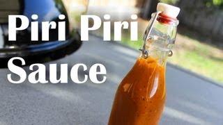 How To Make Piri Piri / Peri Peri Sauce – Recipe Video