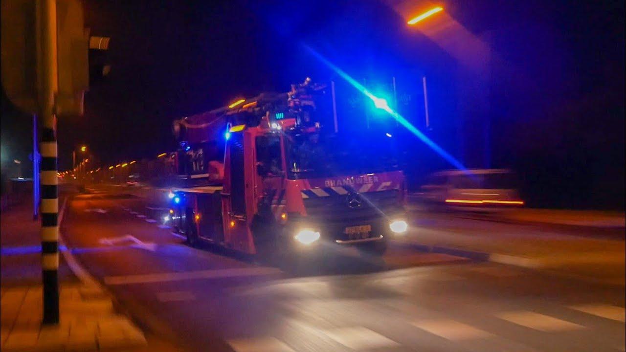 Veel brandweer met grote spoed naar zeer grote brand in Heemskerk!
