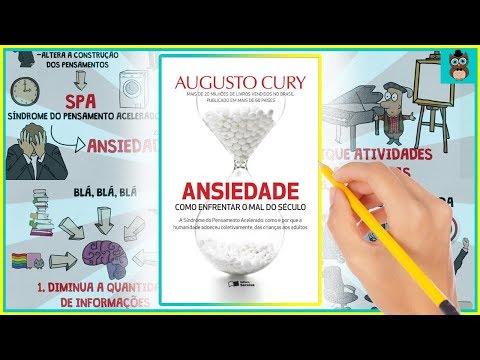 ANSIEDADE | COMO ENFRENTAR O MAL DO SÉCULO | AUGUSTO CURY | RESUMO ANIMADO