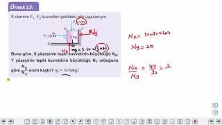 Eğitim Vadisi 9.Sınıf Fizik 12.Föy Kuvvet-Newton'un Hareket Yasaları 2 Konu Anlatım Videoları