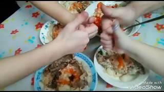 Как вкусно приготовить мясо кролика в сметанном соусе в мультиварке с овощами   Очень вкусное мясо