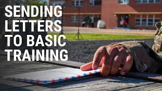 How To Send Letters To Basic Training
