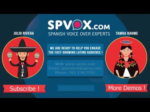 Spanish Voice Over Experts Voiceover Studio Finder