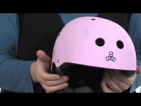 Triple Eight - Little Tricky Dual Certified Youth Helmet with EPS Liner (Junior) SKU:#8104189