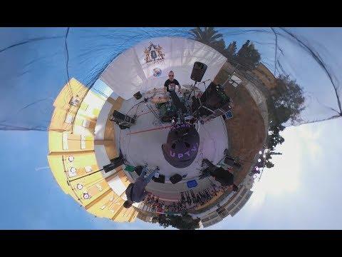 Grupo musical La Ruina en el Festival Ampatízate en directo/360º