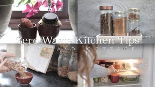 Zero Waste Kitchen Tips - How to reduce your waste in the kitchen