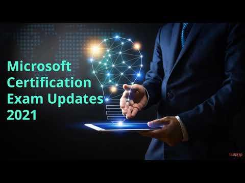 Microsoft Certification Exam Updates 2021 - YouTube