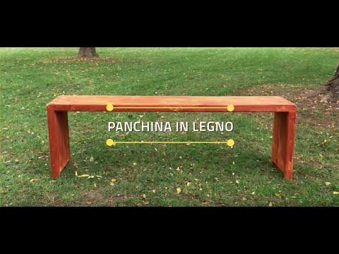 MAURER TUTORIAL  - Costruire una panchina da giardino fai da te
