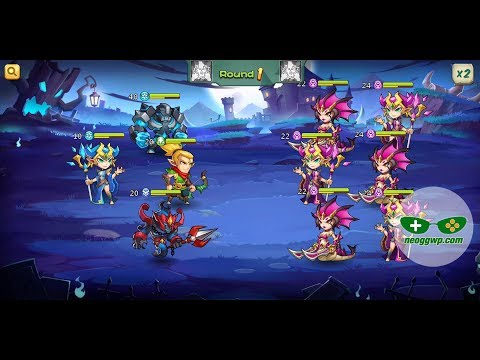 🥇 Valiant Heroes Gameplay Android   New Mobile Game