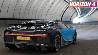 Forza Horizon 4 - Bugatti Chiron | Gameplay