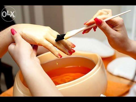 Парафинотерапия рук в домашних условиях!