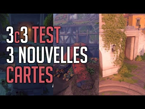 [OVERWATCH] TEST 3 NEW MAPS | On essaye de jouer sérieusement ?