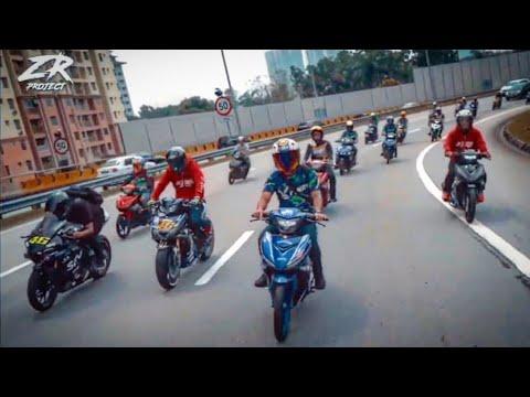 Ride bersama Zizan dan Shuib masing masing ukur jentera
