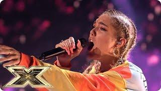 Bella Penfold sings Emeli Sande's Beneath Your Beautiful    Live Shows Week 1   The X Factor UK 2018