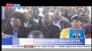 'Kieleweke' team tells DP Ruto to embrace handshake