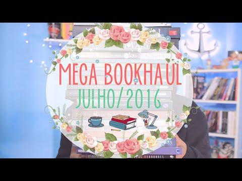 MEGA BOOKHAUL (Julho/2016) | por Carol Sant
