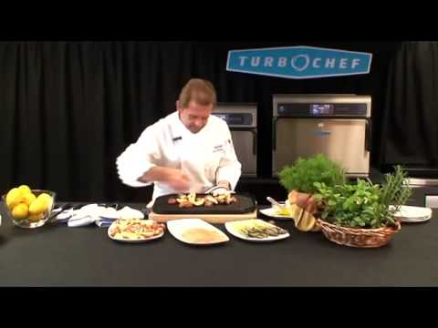 video 1, Four à cuisson rapide I3 TURBOCHEF