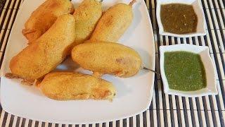 Mirch ka Pakora (Green pepper Fritters)/Ramadan Iftar recipes