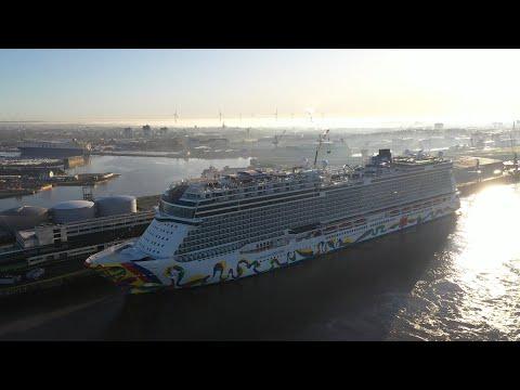 So cool wird die Norwegian Encore - neuestes Kreuzfahrtschiff übergeben