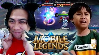 MOBILE LEGENDS BATTLE ROYALE MODE with Sir Rex plus ONYOK