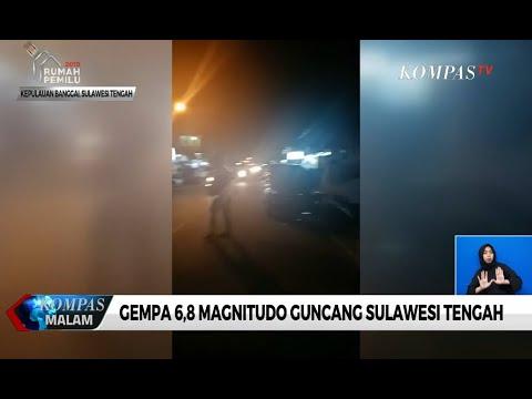 Gempa 6,8 Magnitudo Guncang Sulawesi Tengah