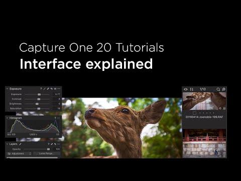 Capture One 20 Tutorials   Interface explained - YouTube